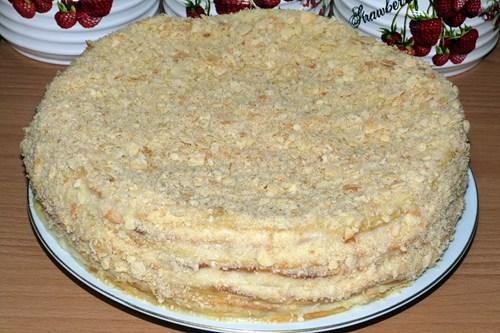 Торт в домашних условиях из сметаны