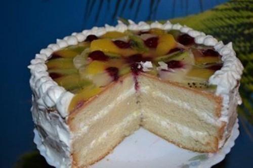 Рецепт пышного бисквита торта