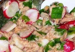 Мясной салат «Новичок»