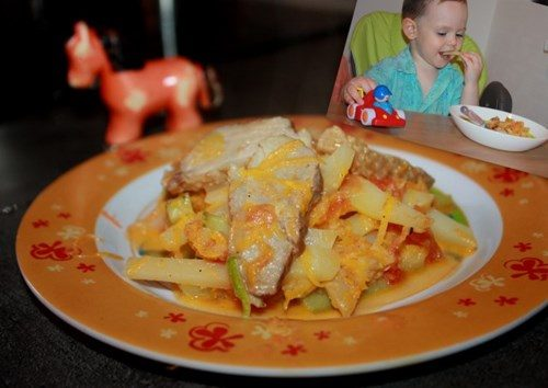 Овощное рагу для малыша фото