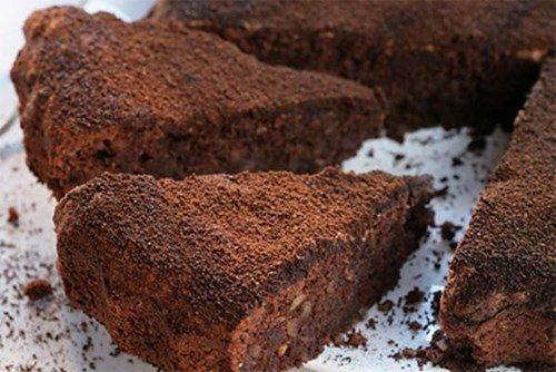 Орехово-шоколадное печенье фото