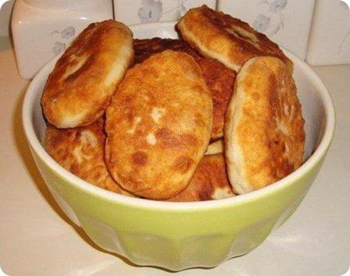 Картофельные пирожки с капустой фото