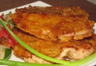 Куриное филе в шубке