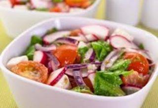 Летний салат по-испански