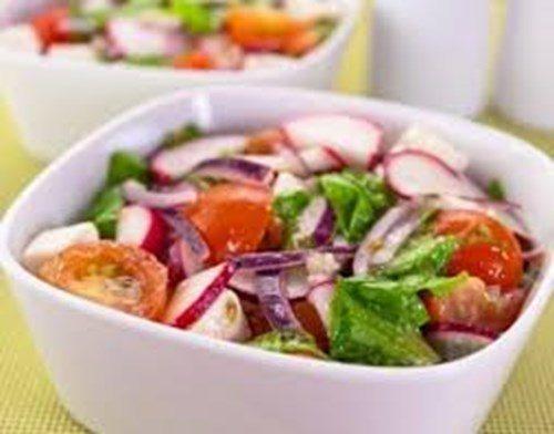 Летний салат по-испански фото