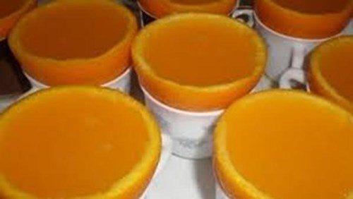 Оранжевые кексы фото