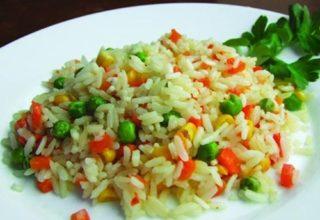 Рис с овощами домашний