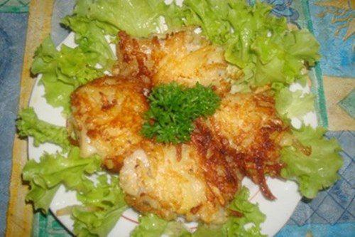 Рыба в картофельной шубе фото