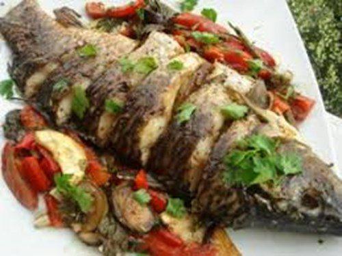 Рыба с овощами по-провански фото