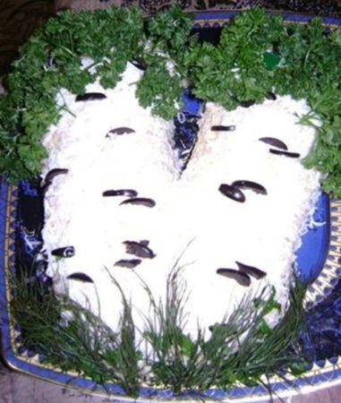 Салат «Березка» фото