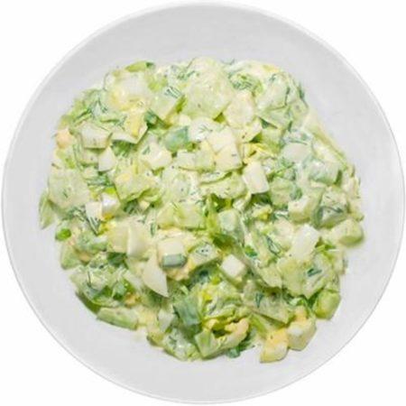 Салат «Зеленый хрум» фото