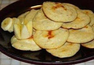 Творожно-банановые блинчики