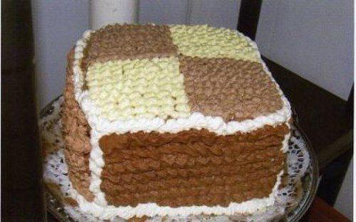 Торт «Дамские пальчики» фото