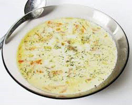 Французский сырный суп фото