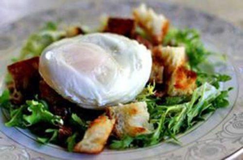 Яйцо - пашот фото
