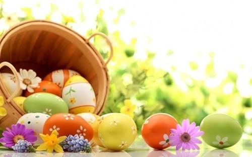 украсить пасхальные яйца