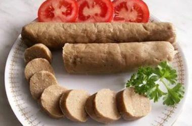 Вегетарианские сосиски фото
