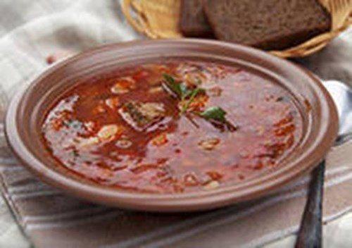 Кубанский чесночный суп фото