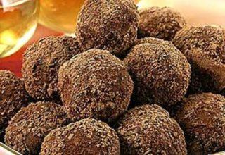 Орехово-шоколадные шарики