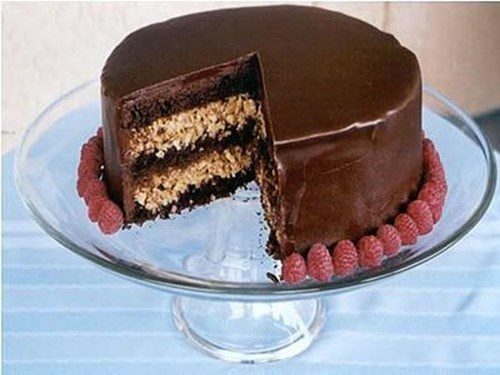 Ореховый радио-торт