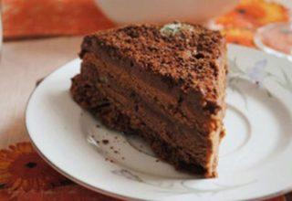 Особый кофейный торт