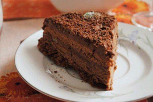 Особый кофейный торт фото