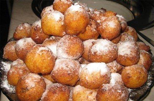 Пончики с кремом фото
