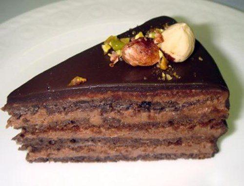 Ромовый торт фото