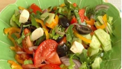 Салат «Яркие краски» фото