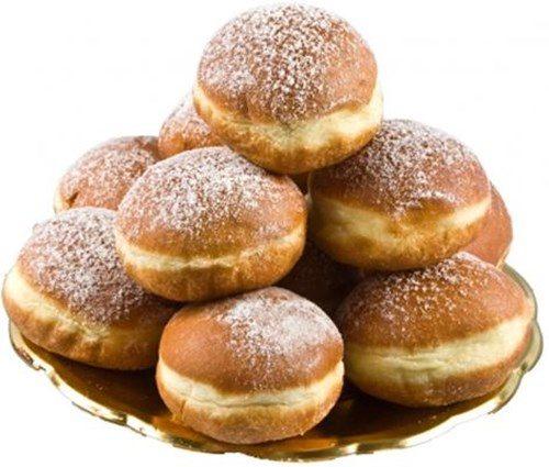 Сдобные пончики фото