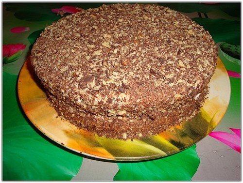 Творожный торт обыкновенный фото