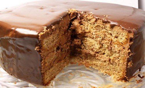 Торт из лесного ореха фото