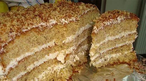 Торт на гусином сале фото