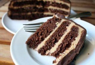 Торт с кофейным кремом