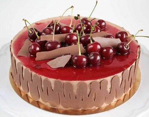 Черешневый торт фото