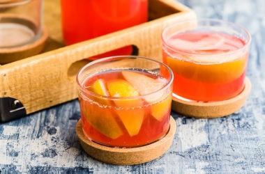 Яблоки в арбузно-дынном соке