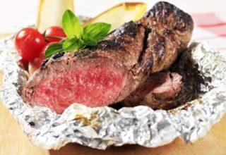Мясо по-итальянски в фольге
