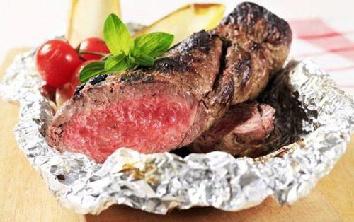 мясо по итальянски в фольге фото
