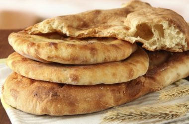 Бездрожжевой хлеб лепёшка