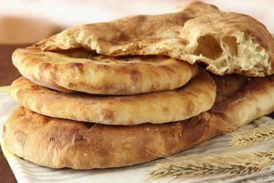 Бездрожжевой хлеб лепёшка фото
