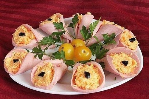 Закуска «Колокольчики» фото