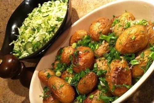 Картофель к«празничному столу» фото