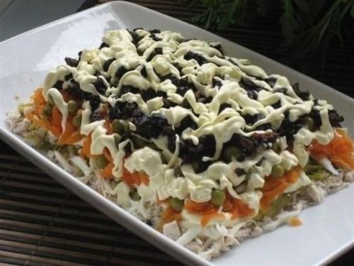 Салат «Вкусный» фото
