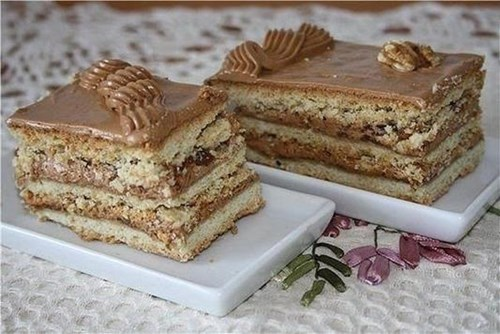 Торт «Ленингрдский» фото