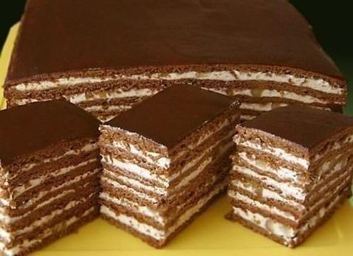 Торт «Медово-шоколадный» фото