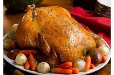 Фаршированная курица «Запеченная в рукаве»
