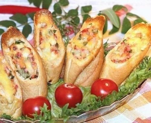 Багет «Закуска из багета» фото