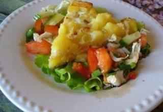 Омлет с «Картофелем»