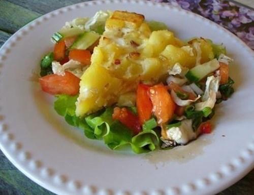 Омлет с «Картофелем» фото