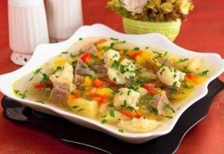 Суп с «Клецками»